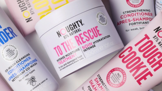Boots launches NOUGHTY, a leading line of hair care products