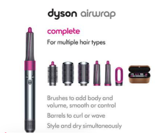 """Review of Dyson Airwrap """"hair dryer"""" the latest innovation"""