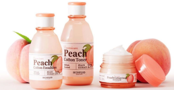 A total of 7 creams used by Peach fans